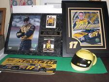 Rare Matt Kenseth #17 Nascar Nextel Cup Plaque Dewalt, Dewalt License plate, cup