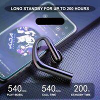 Bluetooth Wireless Earphones In-ear Stereo Noise Cancelling Sport Headsets