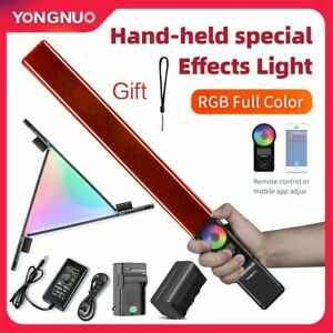 Yongnuo YN360III 3200K-5500K RGB Stick LED Video Light Adjust Control by Phone