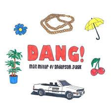 """Mac Miller """"Dang!"""" (feat. Anderson .Paak) Art Music Album HD Print Poster"""