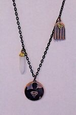 """24"""" Handcrafted Superman Charm Necklace"""