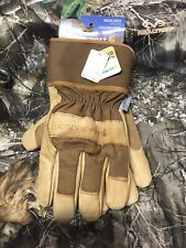Cahartt XL Gardening Construction Insulated Leather Work Gloves