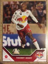 Thierry Henry 2011 Upper Deck Soccer MLS Red Bulls