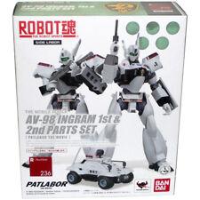 Bandai Robot Spirits Soul 236 Patlabor the Movie AV-98 INGRAM1st & 2nd Parts Set