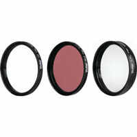 Vivitar 95mm UV, Polarizer & FLD Deluxe Filter kit (set of 3 + carrying case)