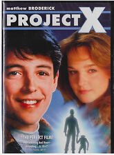 PROJECT X (DVD, 2012, Matthew Broderick) NEW