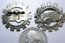 VOLKSWAGON VW PIN GERMAN WWII GERMANY WW2 EMBLEM BADGE INSIGNIA AUTOMOBILE CAR