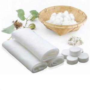 10Pcs Magic Soft Compressed Towel Napkins Face Hand Clean Travel Washcloth