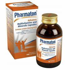 Pharmaton Advance Multivitaminas Y Minerales - 100 Capsulas Nueva