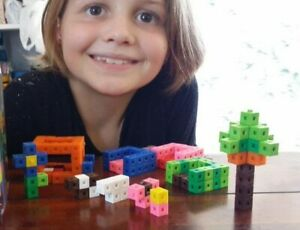 1 cubic cm x 100 Cubes Counting Interlocking Math Learning Home Resources