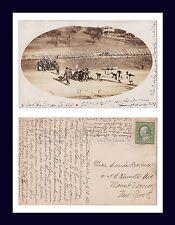 WEST VIRGINIA MORGANTOWN FAIRMONT FOOTBALL 1910 TO CECILE PROVENCE MT VERNON NY