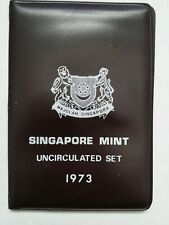 Singapore Mint Uncirculated Set 1973 In Original Package
