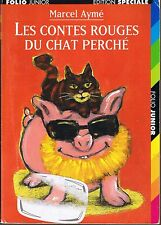 Marcel AYME * Contes rouges du chat perché  Folio Junior * livre jeunesse