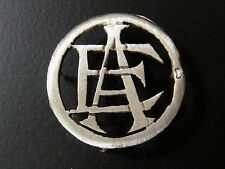 MONOGRAMMES ARGENT MASSIF AE EA INITIALE CHIFFRE SOLID SILVER MONOGRAMS ART DECO