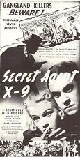 The Secret Agent X-9 (1937) - Cliffhanger Classic Movie Serial DVD Scott Kolk