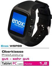 Enox wsp88 3g versión 2 Android dorado smartphone handyuhr 20gb sim WLAN GPS