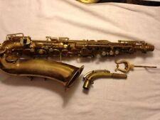 Antique Standard Blessing Elkhart Alto Saxophone Serial # 1775 -1940 - 41