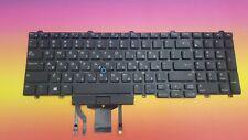 Keyboard Hebrew Dell E5570 E5580 Precision 15 17 7000 060HD1 Backlit