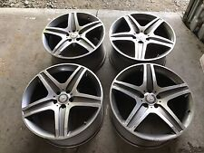 "2013 Mercedes Benz ML63 20"" OEM AMG wheels, factory rims"