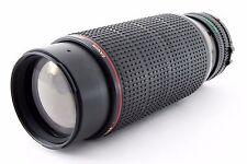 Canon FD 'N' 100-300MM F5.6 L MACRO ZOOM LENS scarse f-1n ae1-p etc EXC ++++
