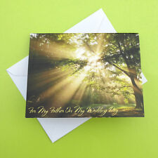 For My Father On My Wedding Day Sunshine Through The Trees Outdoor Summer Sweet