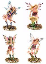 Faerie Glen Band Fairy Series Figurine Set of 4 Retired 2005 Munro.