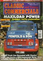 CLASSIC AND VINTAGE COMMERCIALS MAGAZINE SEP 2004 MAXILOAD POWER FODEN DUO RESTO
