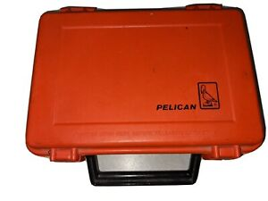 Small Orange 5-in X 7-in Pelican Case