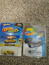 2 LOT Hot Wheels Color Shifters 67 Camaro & 67 Camaro Classic Flames