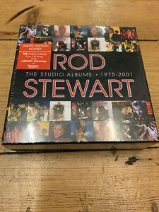 Rod Stewart-Studio Albums 1975-2001 14 CD Box Set. Sealed. New.