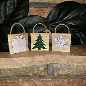 Rustic Christmas Ornaments For Sale Ebay