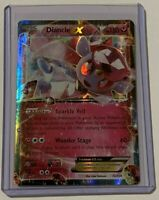 Diancie-EX - 72/124 - Holo Rare ex NM-Mint Pokemon XY - Fates Collide
