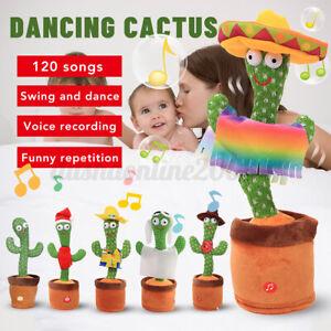 7TYPE Tanzender Kaktus Sprechen Lernen+Aufnahme + 120 Lieder für Kind Geschen