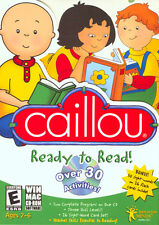 Educational PC games for kids, Caillou Ready To Read, learning Reading,Writing