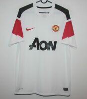 Manchester United England away football shirt 10/11 Nike Size M