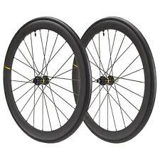 2020 MAVIC Cosmic Pro Carbon UST Disc 700x25 Clincher Wheelset Wheels