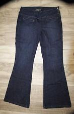 joli jeans brut large patte d'éléphant GUESS LOS ANGELES taille 40/42 (W31)