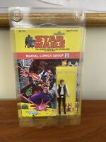 Han Solo Small Head 1985 STAR WARS Comics Custom Made Card MOC
