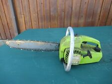 "Vintage POULAN MICRO XXV Chainsaw Chain Saw with 14"" Bar"