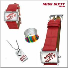 Authentic MISS SIXTY Ladies Fashion Watch Jewelry Collection Set
