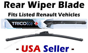 Rear Wiper WINTER Beam Blade Premium fits Listed Renault Vehicles - 35180