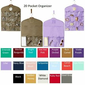 JOY Mangano Huggable Hangers 20 Pocket Organizer
