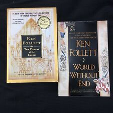 Kingsbridge Series #1-2: Books by Ken Follett  Pillars 25th Anniv & World