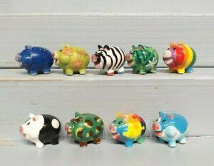 Série complète de fèves PIG PARTY 2004 COCHONS DESIGN * 77