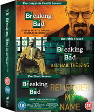 Breaking Bad: The Final Seasons DVD (2015) Bryan Cranston ***NEW***