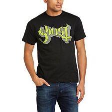 Ghost Men Green/grey Keyline Logo Short Sleeve T-shirt Black Large