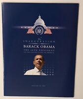 Barack Obama inauguration program 2009 44th president new