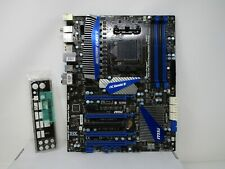 MSI 990FXA-GD80 V2 AMD 990FX chipset AM3 Socket  Motherboard With I/O Shield