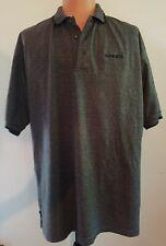 Volvo Polo Shirt Xl Gray Short Sleeve Golf Port Authority Cotton Collar Cotton
