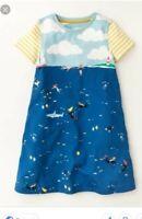 New MINI BODEN Dress Seaside print 2 3 4 5 6 7 8 9 10 Swing Tunic Cotton Jersey